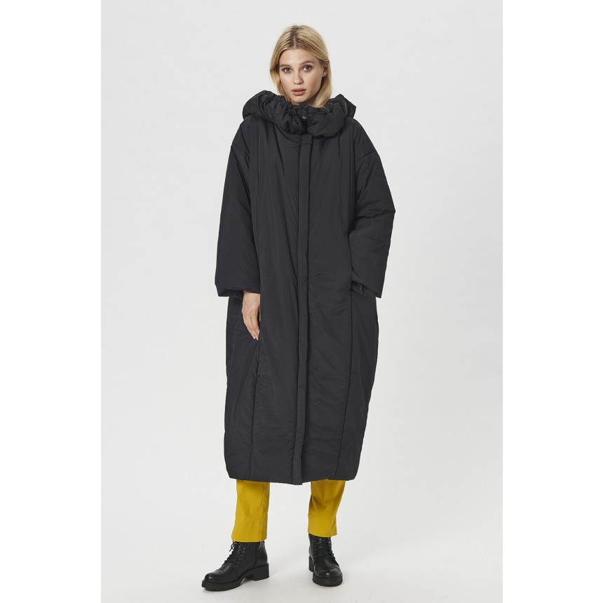 NESTLE COAT WITH HOOD