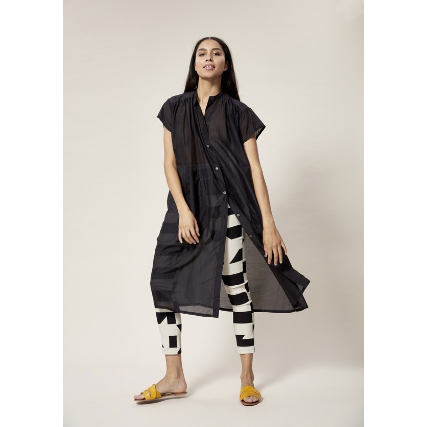 DISRUPTED STRIPE PANTS