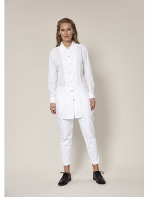 KISS POPLIN LONG SHIRT