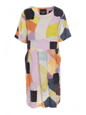 SONIA VISCOSE DRESS WITH POCKETS