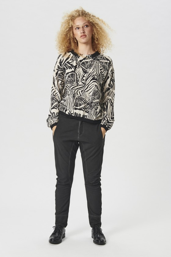 BUTTERFLY CAMO BLOUSE
