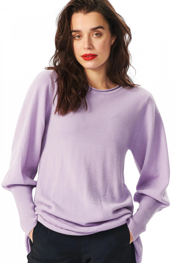 CLOUD CASHMERE BLOUSE