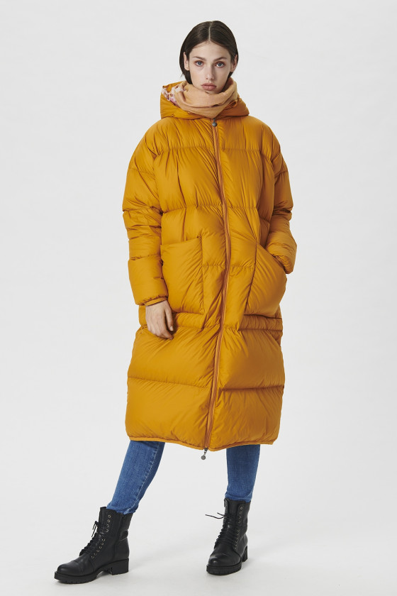 FEATHER DOWN COAT