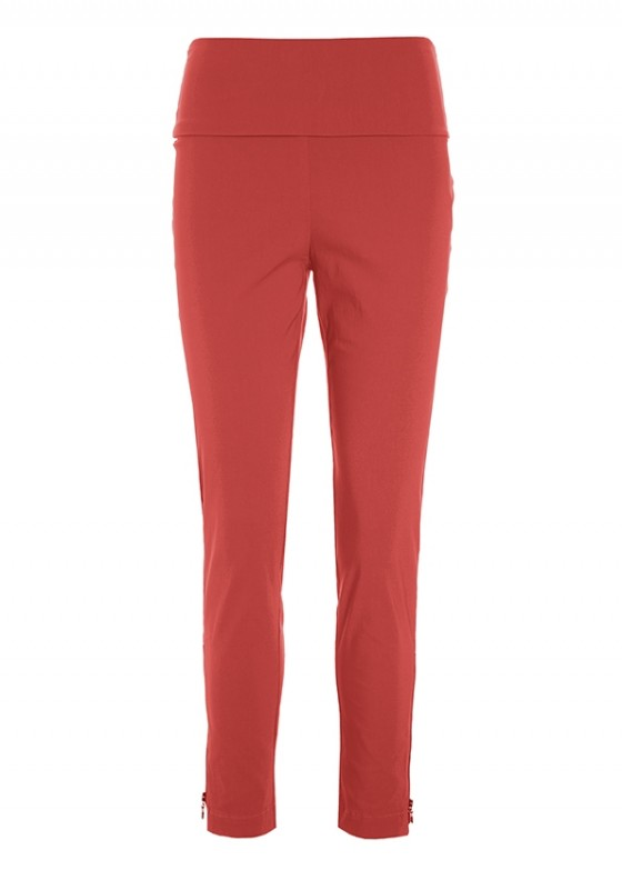 MAGIC STRETCH TROUSERS WITH ZIP