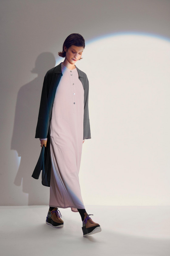 ETHER ECOVERO LONG DRESS