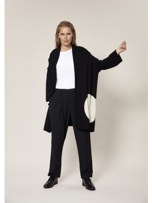 EXCENTRIC CREPE PANTS