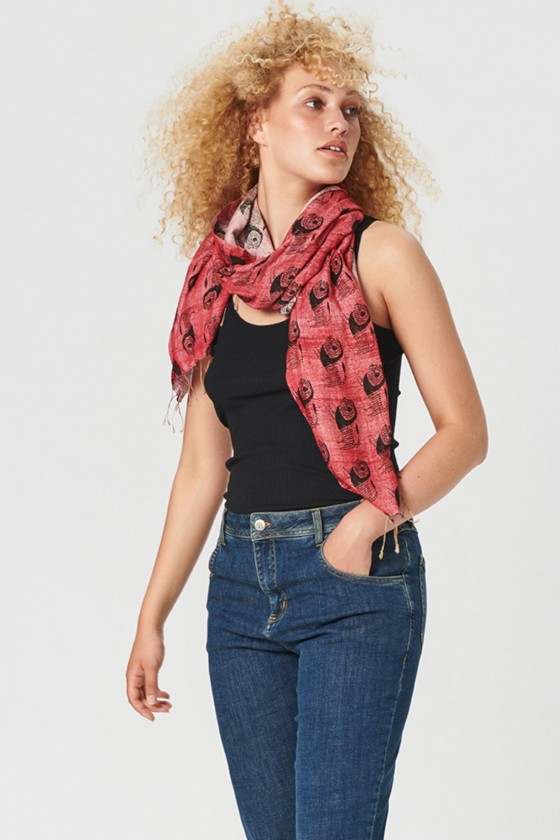 LION PAISLEY SCARF