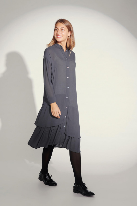 CREPON VISCOSE DRESS