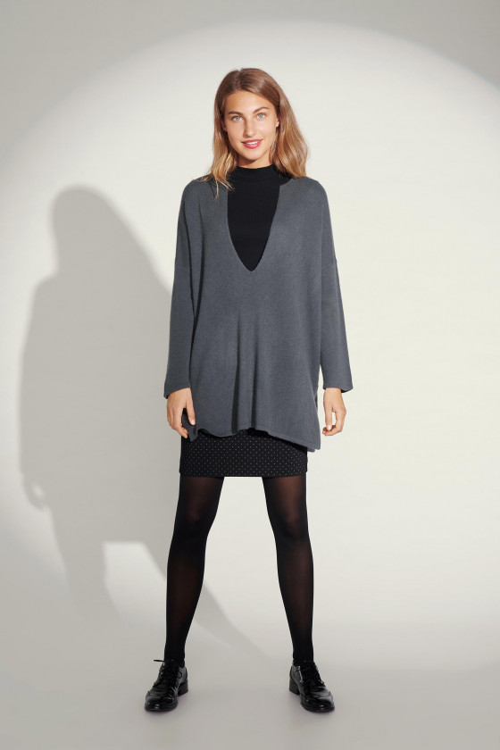 CLOUD CASHMERE MIX TUNIC