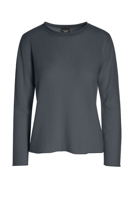 CLOUD CASHMERE MIX BLOUSE