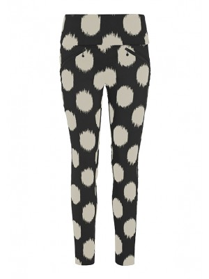 DOT JACQUARD PANTS