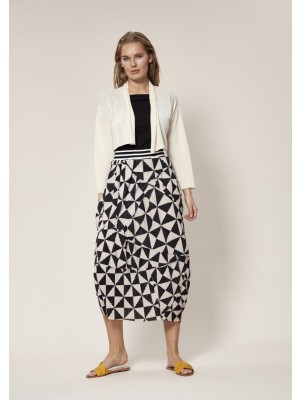 PROPELLER PLEATS SKIRT