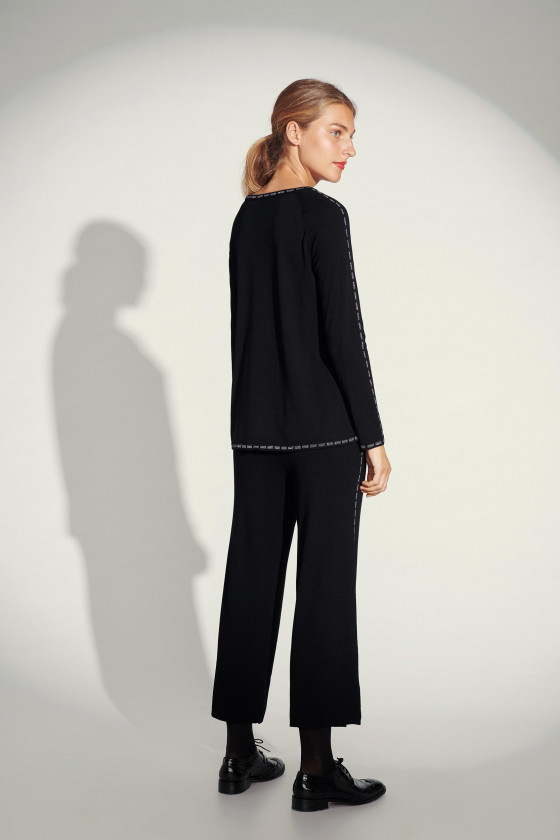 DAZZLE KNIT PANTS