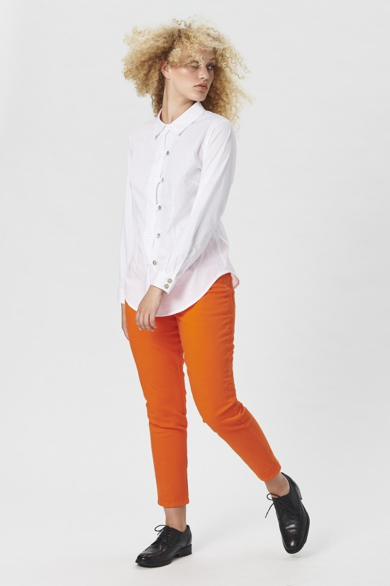 KISS POPLIN SHIRT WITH COLLAR