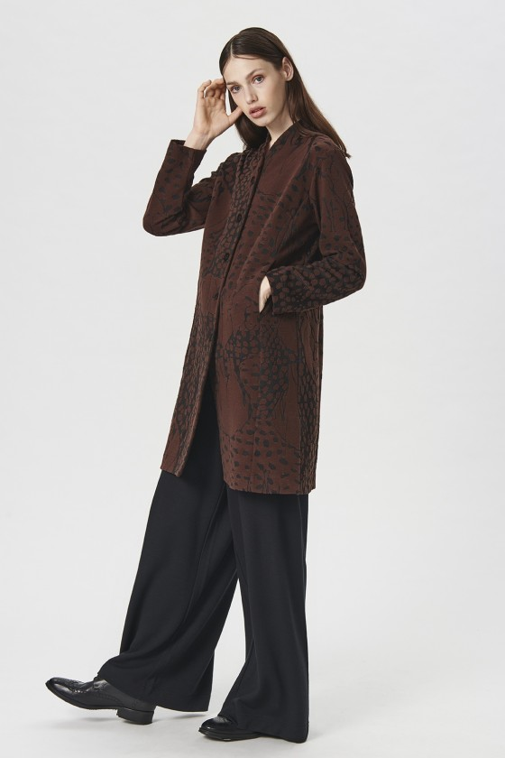 ZOO JACQUARD JACKET