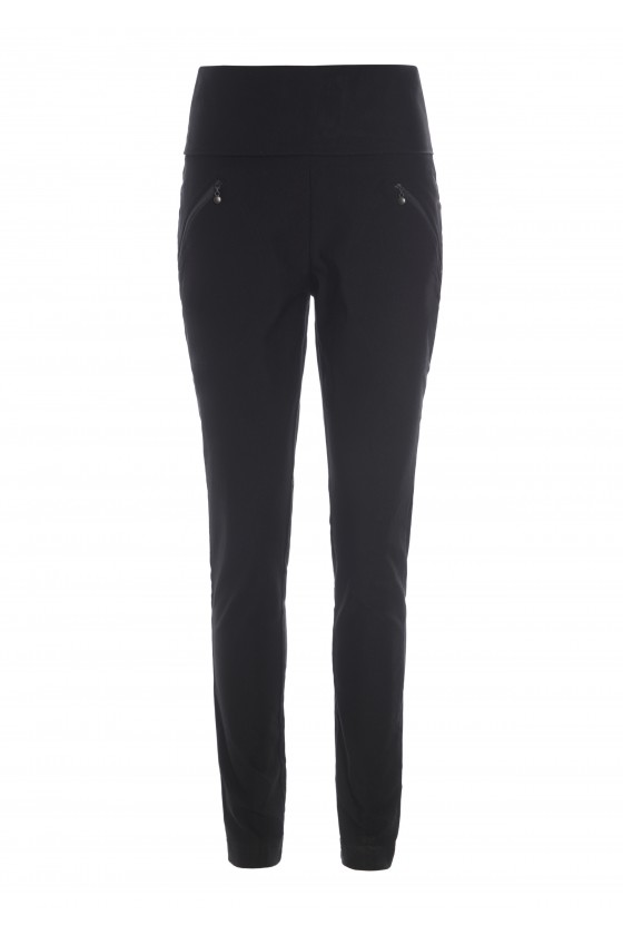 TWILL MAGIC TROUSERS WITH POCKETS
