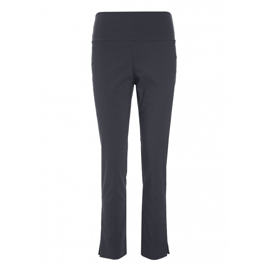 MAGIC STRETCH TROUSERS WITH SLITS A LENGTH