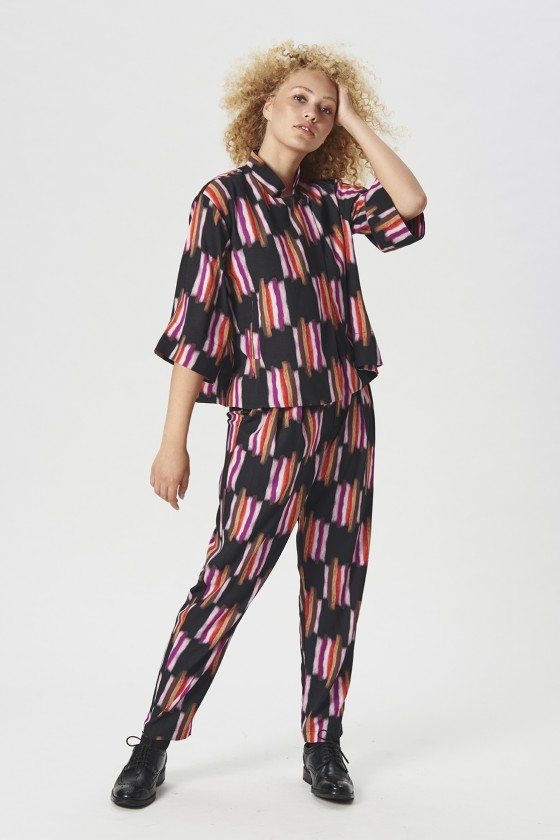 FURRY CHECK BUKSER