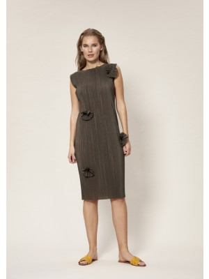 SHIBUI PLEATS KLEID