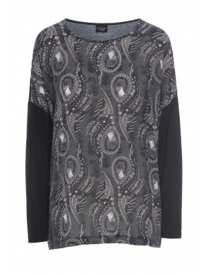 PARTY PAISLEY BLUSE