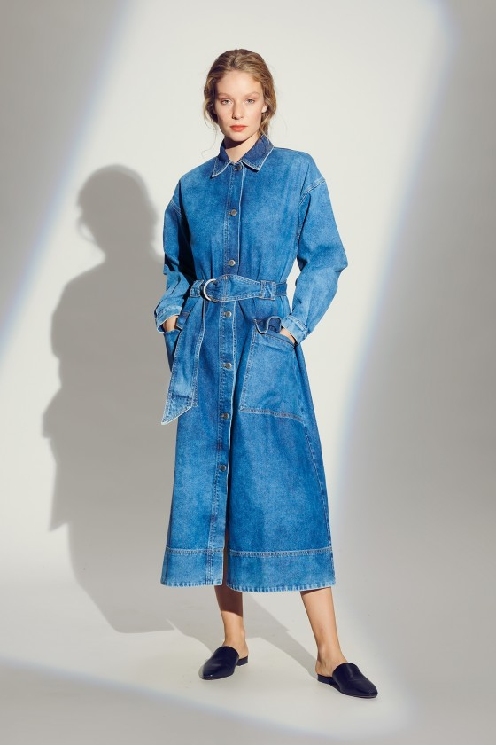 ORIGINAL DENIM TRENCHCOAT