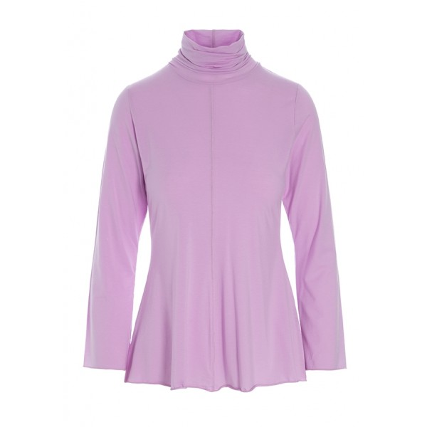 ATLAS JERSEY TURTLENECK BLOUSE