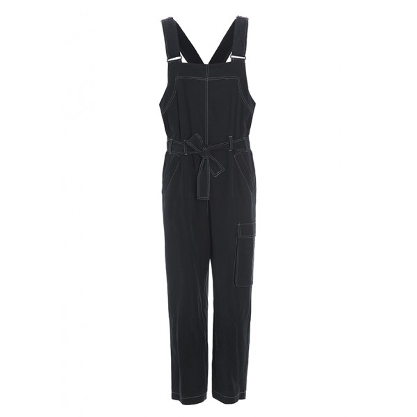 DRAPY TWILL OVERALLS