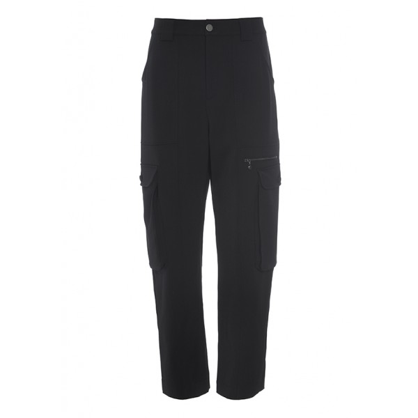 GARBO GABARDINE PANTS  WITH POCKETS