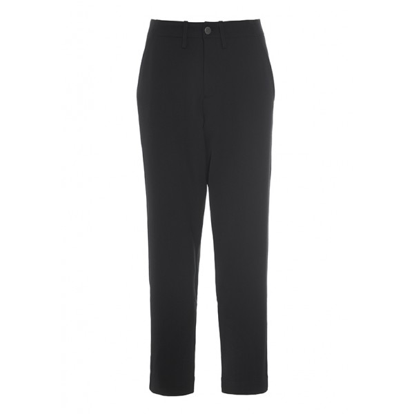 GARBO GABARDINE NARROW PANTS