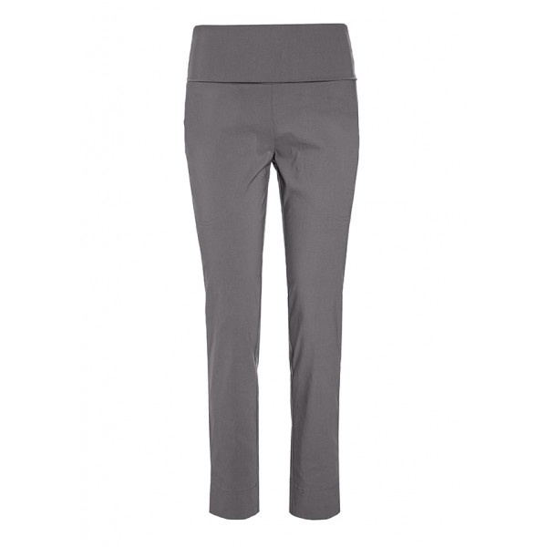 MAGIC STRETCH TROUSERS WITH SLITS