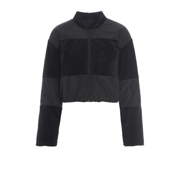 MOONLIGHT VELVET BOMBER JACKET