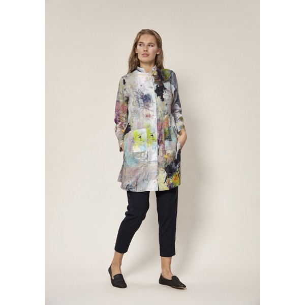 THE ARTIST LINEN LONG SHIRT
