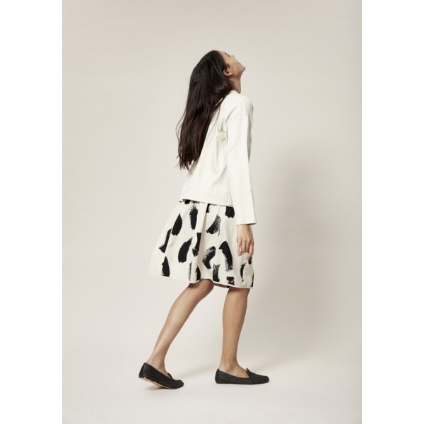 BRUSHSTROKES SKIRT