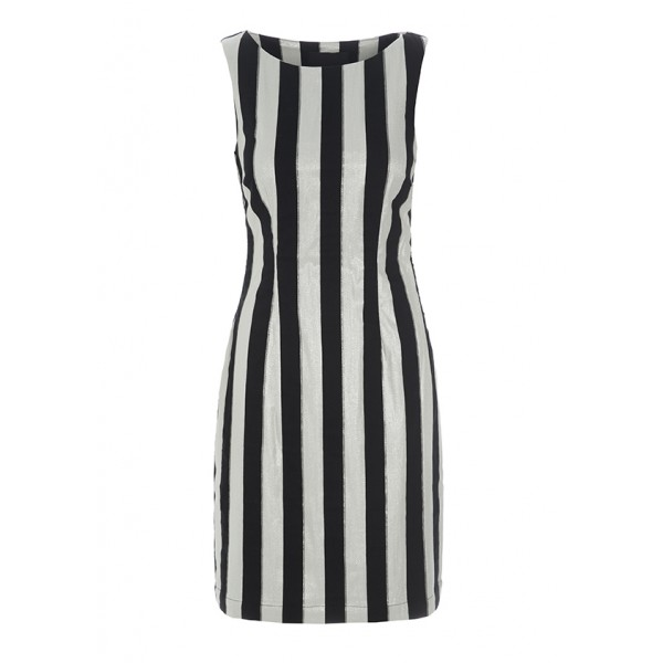 PIANO STRIPES DRESS
