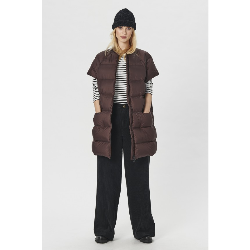FEATHER DOWN WAISTCOAT