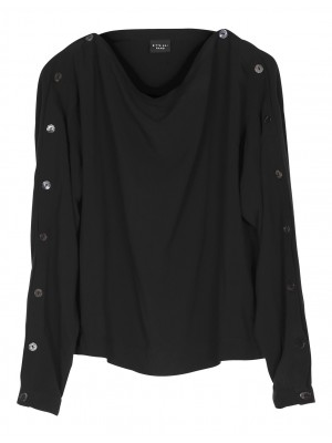 BLACK PYRAMIDS VISCOSE SHIRT