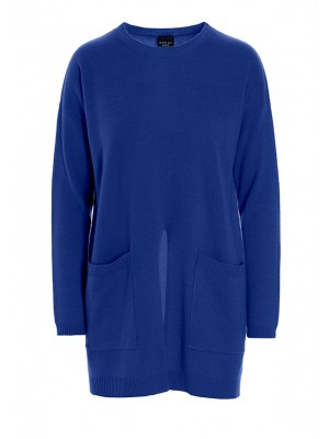 ADMIRAL CASHMERE LONG BLOUSE