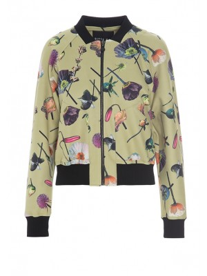 FLOWING FLOWERS JACKET