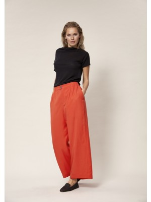 DRAPY TWILL PANTS