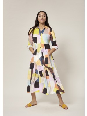 SONIA VISCOSE LONG DRESS