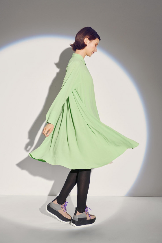ETHER ECOVERO DRESS