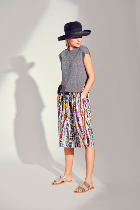 JEWELS VISCOSE SHORTS