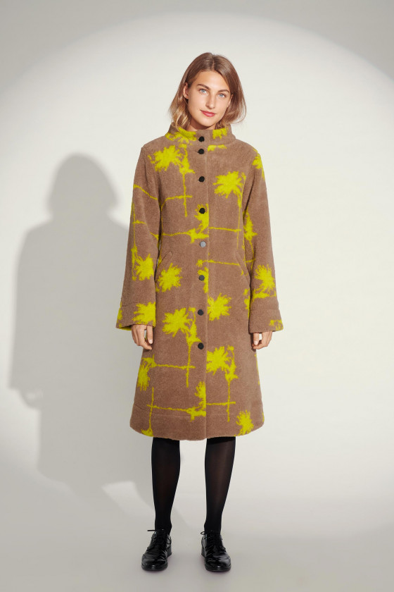 DAHLIA CHESS COAT