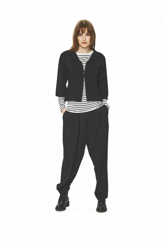 TOKYO TWILL TROUSERS WITH PLEATS