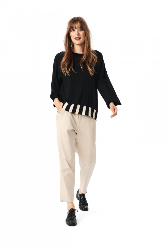 BLOOM KNIT BLOUSE