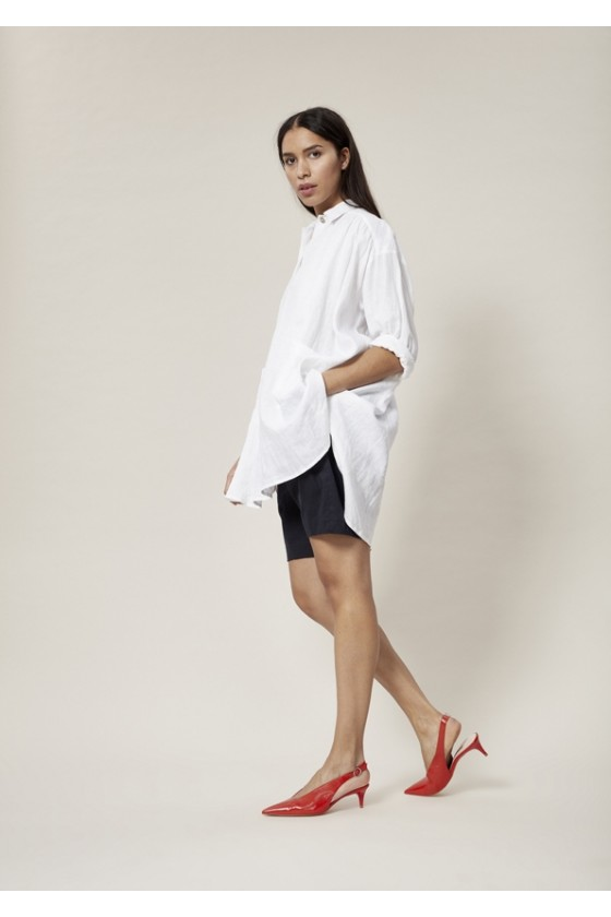 AIRY LINEN TUNIC