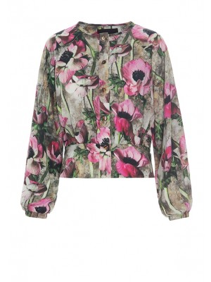ANEMONE BLOUSE W BUTTONS