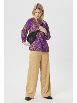 ZOO JACQUARD BLOUSE
