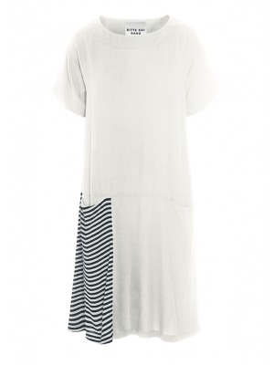 EARTHQUAKE LINEN DRESS