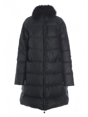 FEATHER DOWN COAT WITH FEATHERS